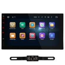 Pumpkin Android 5.1 2 din Universal Car Stereo Auto Radio with Parrot Bluetooth 7inch GPS Navigation Supp DAB+ NO Car DVD Player