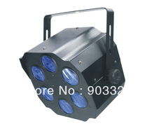 Fresshipping Cheap price Six Holes 4pcs*3W 4IN1 RGBW LED Effect Light for Disco Party,KTV,Club,DJ Effect Light