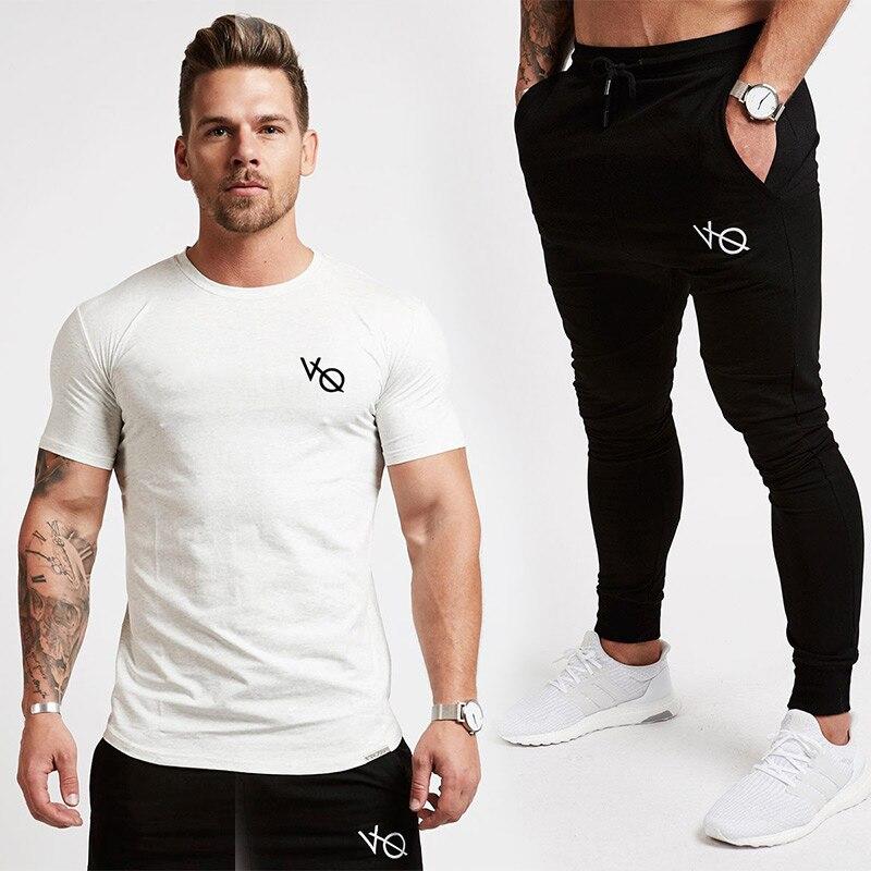 Vanquish 2018 NOUVEAUX GYMNASES Hommes Joggers Pantalon Fitness Casual Marque De Mode Joggeurs pantalons de Survêtement Bas Snapback Pantalon hommes costume Décontracté