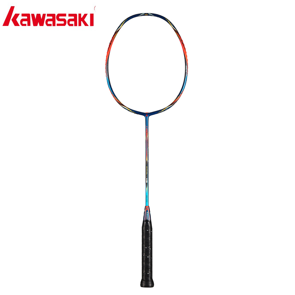 2019 Kawasaki Original 46T Badminton Racket  All-around Type T Join Power Carbon Fiber Racquets For Professional Players King K9