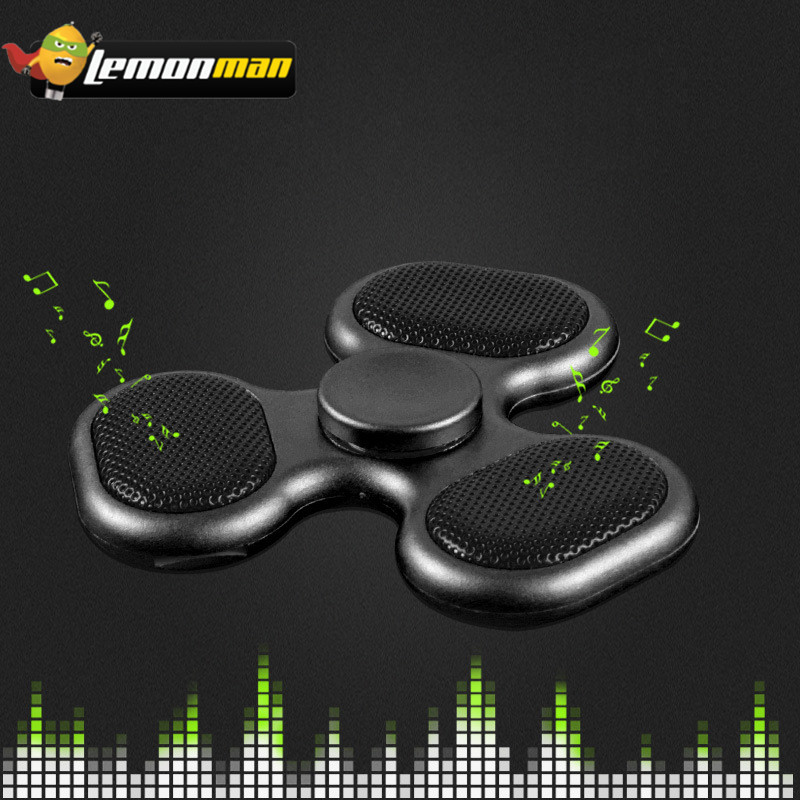 Speakers Consumer Electronics Fu&y Bill Led Light Switch Mini Bluetooth Speaker Music Edc Hand Spinner For Autism And Kids Adult Funny Fidget Toy Speaker