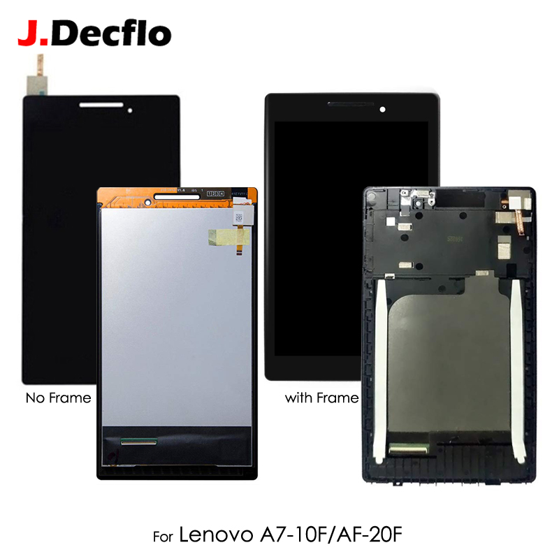 Tested For Lenovo Tab 2 A7-10 A7-10F A7-20 A7-20F Touch Screen Digitizer