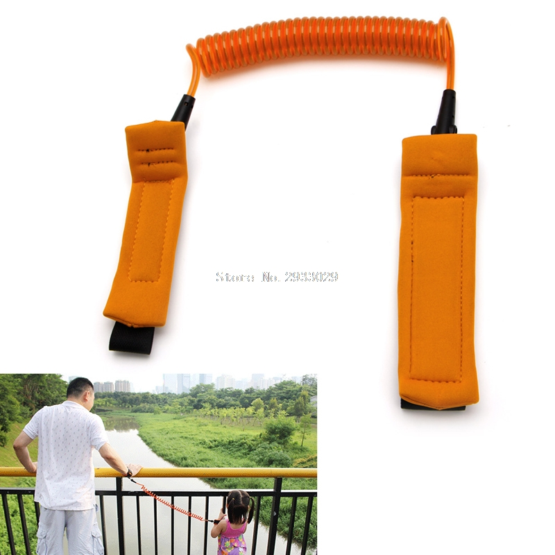 Toddler Baby Kids Child Safety Harness Leash Anti Lost Wrist Link Traction Rope -B116
