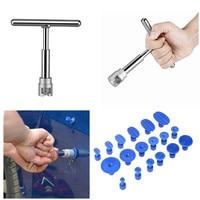 Slide Hammer Dent Puller Kit Car Paintless Dent Repair Hail Removal Kit PDR Tool With 18
