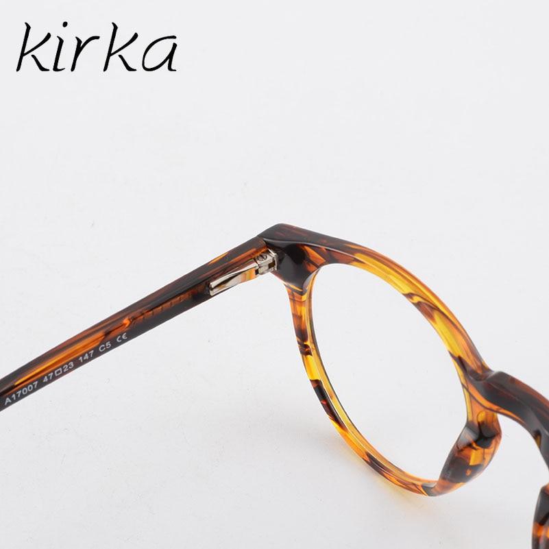 Kirka Frame Glasses Women Eyeglasses Frame Full Frame Round Retro ...