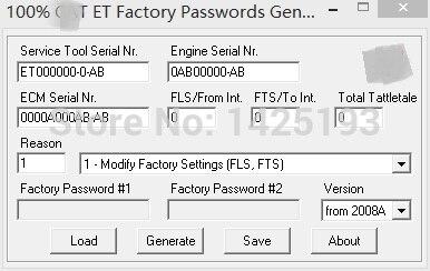 100% 2017 et фабрика генератор паролей v0.2.9 для кошки