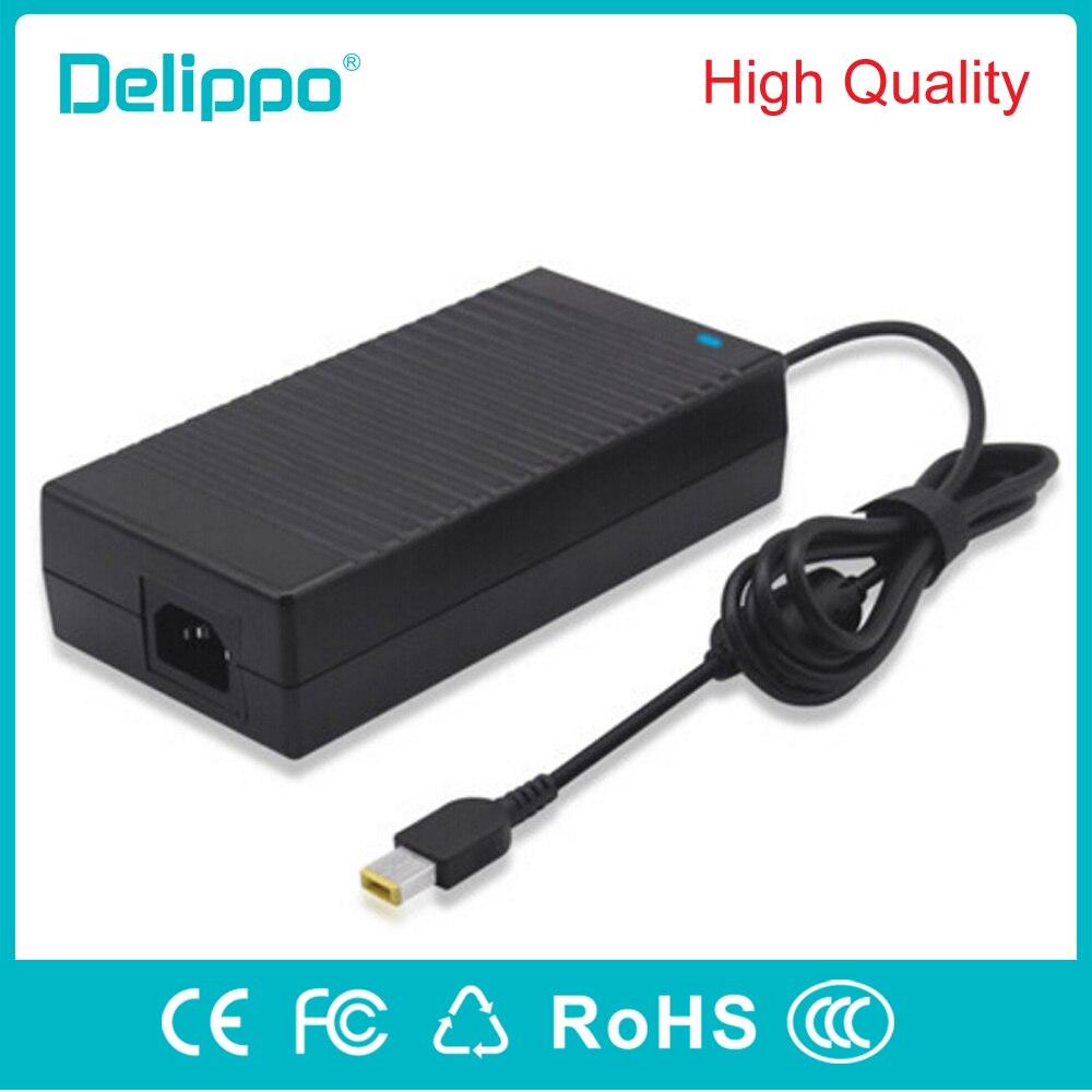 Delippo 20V 8.5A 170W Ac адаптер Зарядное устройство для Lenovo ThinkPad W540 W550s ThinkPad E440 E450 E555 S431 T540p X240 X250power supply