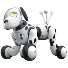 Smart Robot Dog 2.4G Wireless Remote Control Kids Toy Intelligent Talking Robot Dog Toy Electronic Pet Birthday Gift 2 4g wireless remote control intelligent robot dog children s smart toys talking dog robot electronic pet toy birthday gift