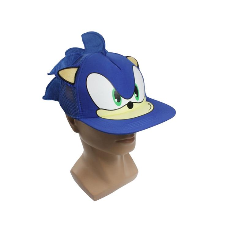 Djali Cute 19cm Sonic The Hedgehog Cartoon Rinia e Baseballit e - Lodra prej pelushi - Foto 2