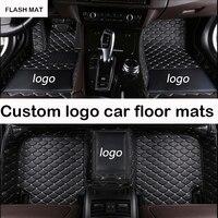 Custom LOGO car floor mats for suzuki sx4 swift suzuki suzuki jimny grand vitara ignis auto accessories car mats