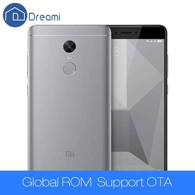 Dreami Оригинальный Xiaomi Redmi Note 4X3 ГБ RAM 32 ГБ ROM Snapdragon 625 Мобильного Телефона 4100 Redmi мАч 5.5 дюймов Мобильного Телефона Note4X