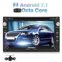Pumpkin 2 Din 7 Android 7 1 Car DVD Player GPS Navigation Qcta Core Car Stereo