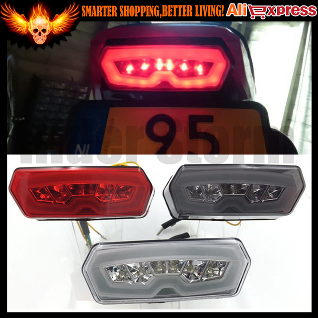 Motorcycle  LED Brake Tail Light Integrated Turn Signals For Honda MSX125 Grom 125 2014-2015 2016 MSX125SF