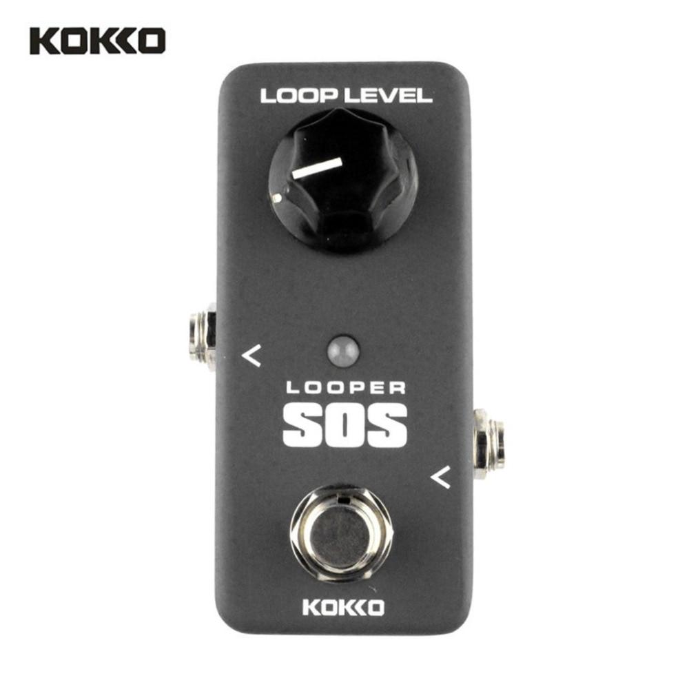 KOKKO FLP2 boucle MINI boucleur SOS guitare boucle pédale boucleur effets 5 Minutes bouclage temps boucle Station guitare professionnelle nouveau