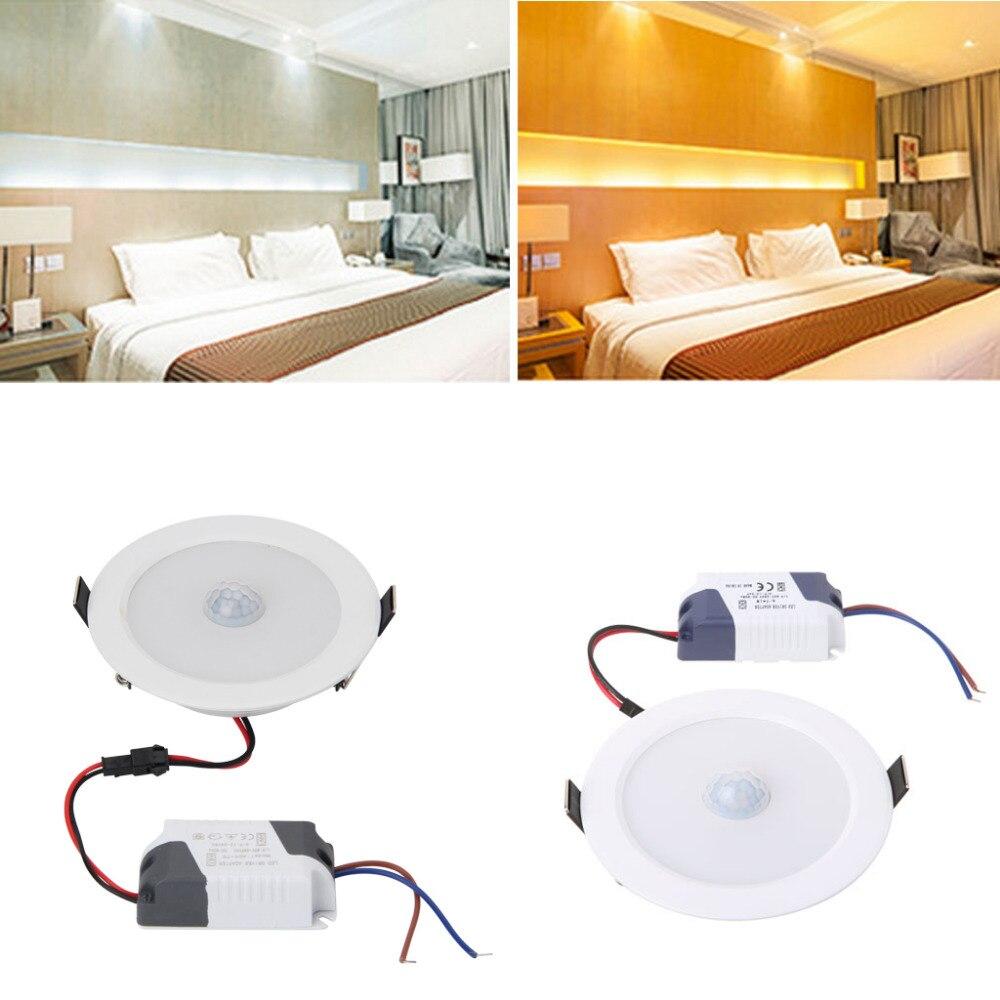 5W/7W/9W E27 PIR Motion Sensor LED Ceiling Light Downlight Wall Path Corridor Lamp L15