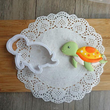 Dropshipping 8 Sets Of Aquatic creatures Modeling Soft Cake Cake Biscu