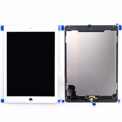 Per iPad Air 2 2nd Gen A1567 A1566 display LCD Touch Screen Digitizer Assembly 9.7 pollice nero o bianco
