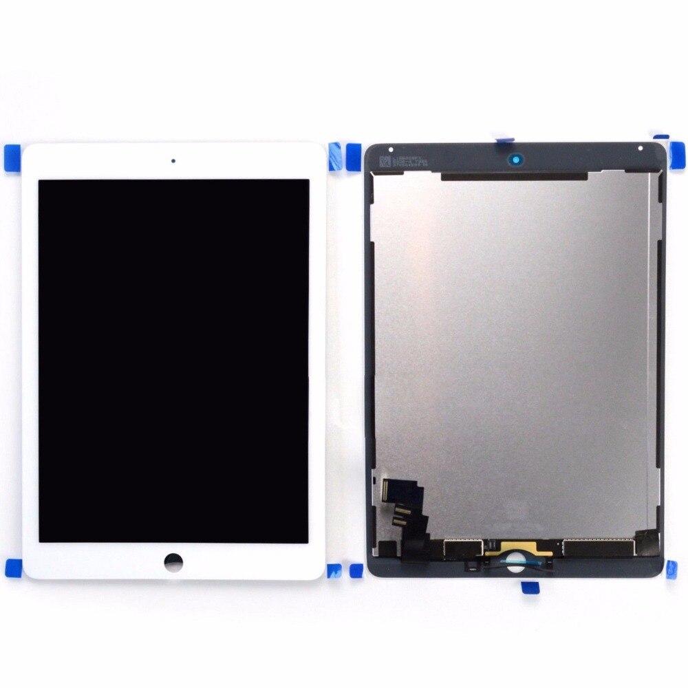Pour iPad Air 2 2nd Gen A1567 A1566 LCD écran tactile numériseur assemblée 9.7 pouces noir ou blanc