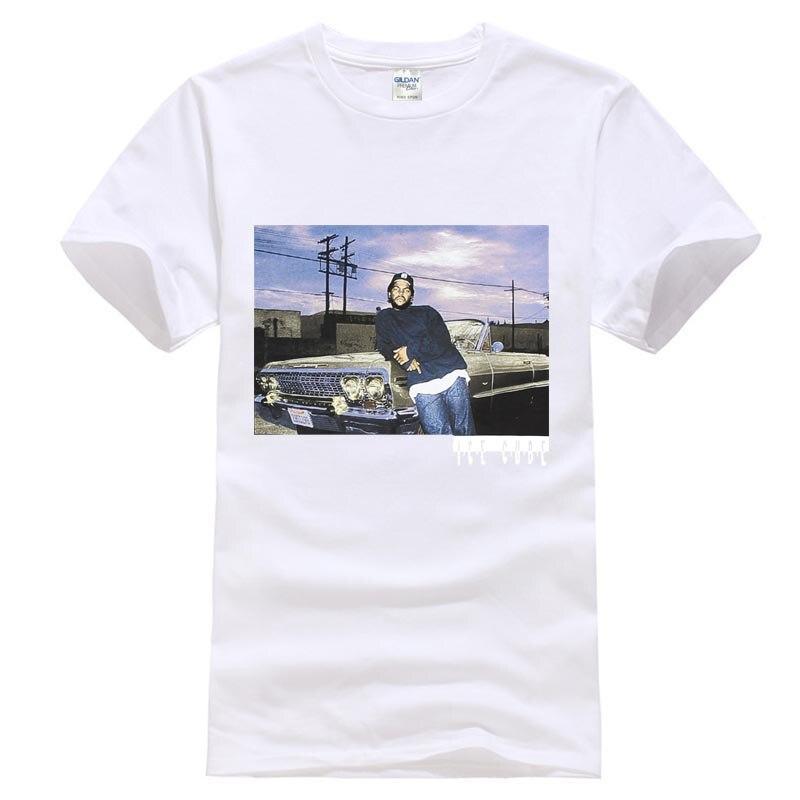 1a4730e0f9 Melhor 2017 Camisas de Algodão de Manga Curta Homem Roupas Top Tee Impala  Preto T Shirt Dos Homens de Alta Qualidade do Cubo de Gelo Barato Online  Preço.