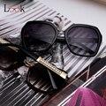 New 2017 gafas de sol de las mujeres de lujo de estilo de moda de verano gafas de sol anti-uv400 mujer vintage sunglass exterior gafas anteojos
