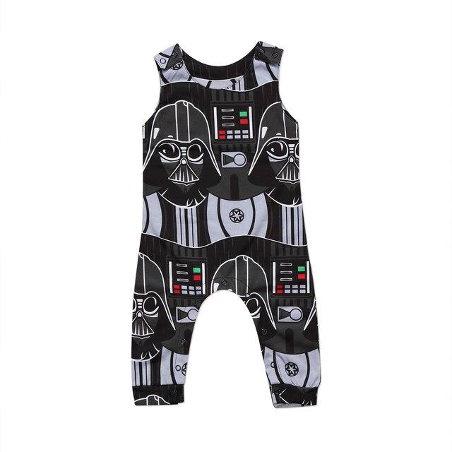 UK Verfügbarkeit populärer Stil attraktive Mode US $4.55 11% OFF Pudcoco 2017 Niedlichen Kleinkind Kinder Baby Jungen Star  Wars Strampler Sleeveles Overall Persönlichkeit Kleidung Outfits Neuheit 0  ...