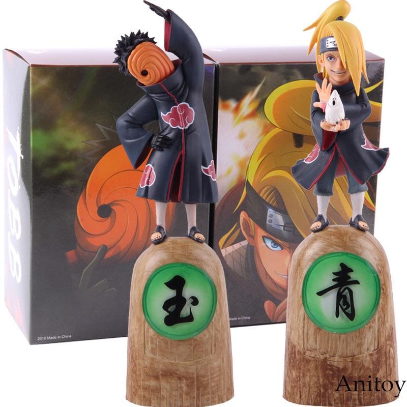 Hot Toys Anime Naruto Akatsuki Deidara & Tobi Tobb Action Figure Collectible Model Toy Gift