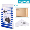 Neewer Camera Lens Cleaning Tissue&Cloth Kit:1500 Sheets of Disposable Lens Cleaning Paper Lintless Tissue+Cleaning Cloth