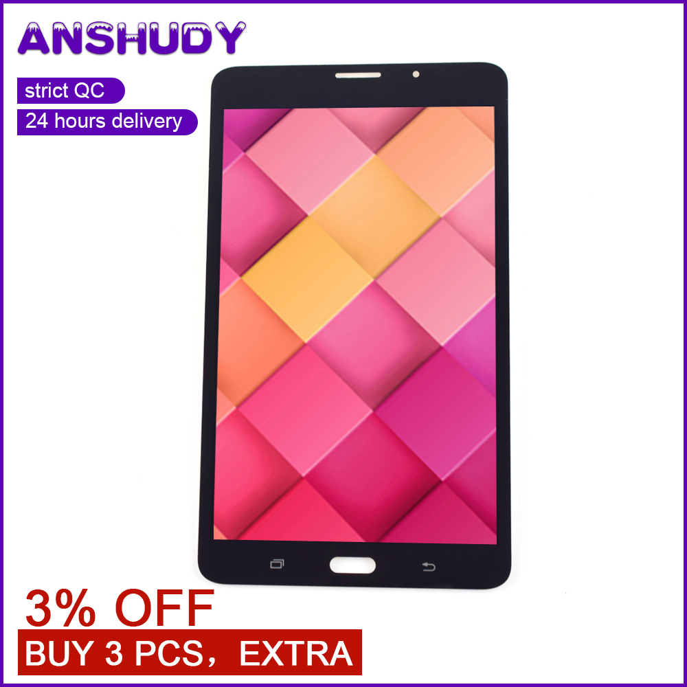 """7.0"""" T285 LCD Touch Screen Digitizer Sensor Glass Assembly For Samsung Galaxy TAB A 7.0 SM-T285 T285 Display"""