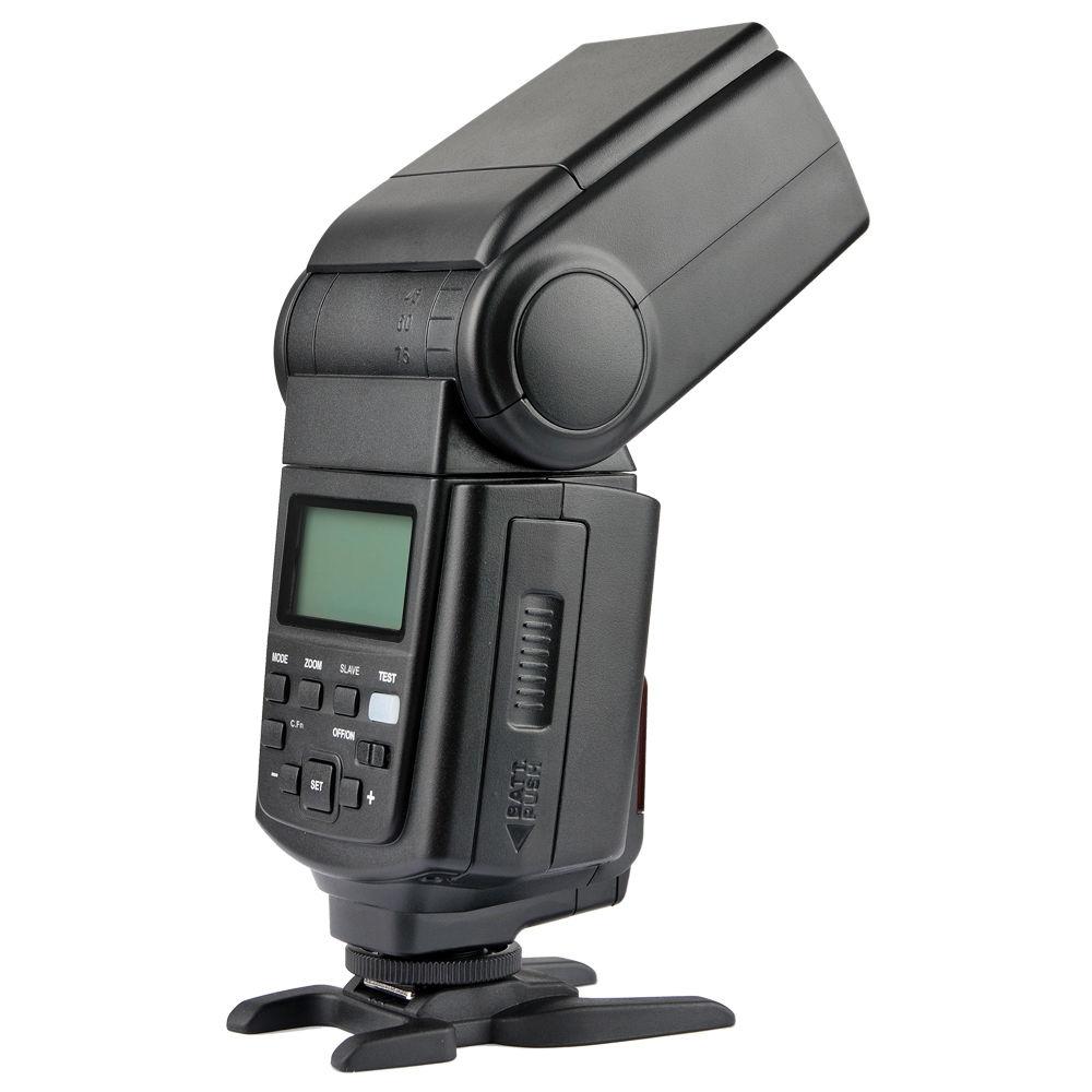 ФОТО TT660II GN58 LCD Flash Light Speedlite flashgun for canon nikon pentax dslr camera