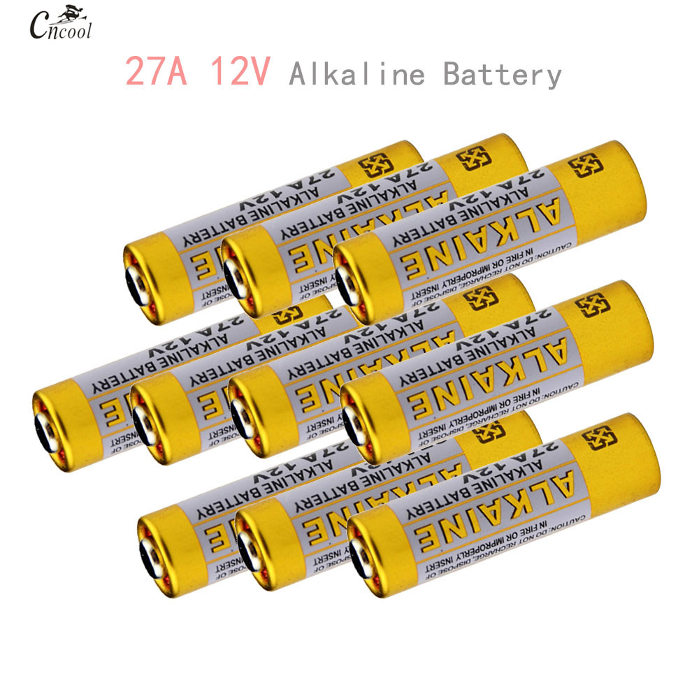 10pcs/lot 27A 12V Battery 27A12V MN27 27A A27 L828 Battery For Doorbell Super Alkaline Batteries Remote control Flshalight