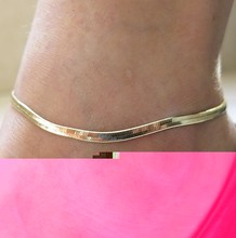 European and American metal chain fine scale high-grade jadoku Chain Anklet Bracelet Jewelry Z2058