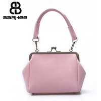 Japan Korean Women handbag PU leather luxury Ladies Tote Fashion Shoulder Bags Frame Crossbody Bag Pink Female messenger bag