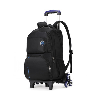 2019 Removable Children School Bags teenager boys girls 3 Wheels Backpack Stairs Kids Trolley Schoolbag kids Luggage travel bag