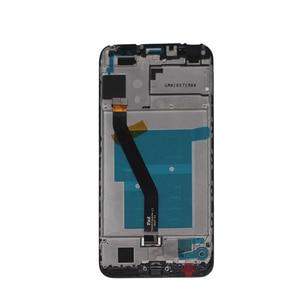 """Image 5 - Новый с рамкой 5,7 """"ЖК монитор для Huawei honor 7C, ЖК дисплей, сенсорный экран, мобильный телефон, запасные части экрана"""