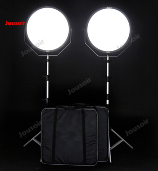 Falconeyes  LED soft Photography lamp round live light camera lighting lamp film lamp SO-68TD two lamp set CD50 T03