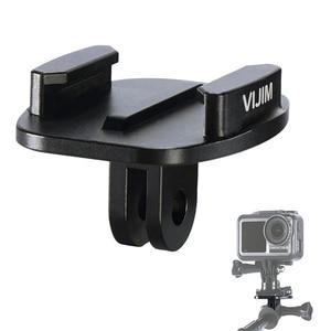 Image 1 - VIJIM GP 2 Aluminum GoPro Quick Release Mount Clip Convert Adapter for GoPro 8/7/6/5 DJI Osmo Action , Action camera Accessories