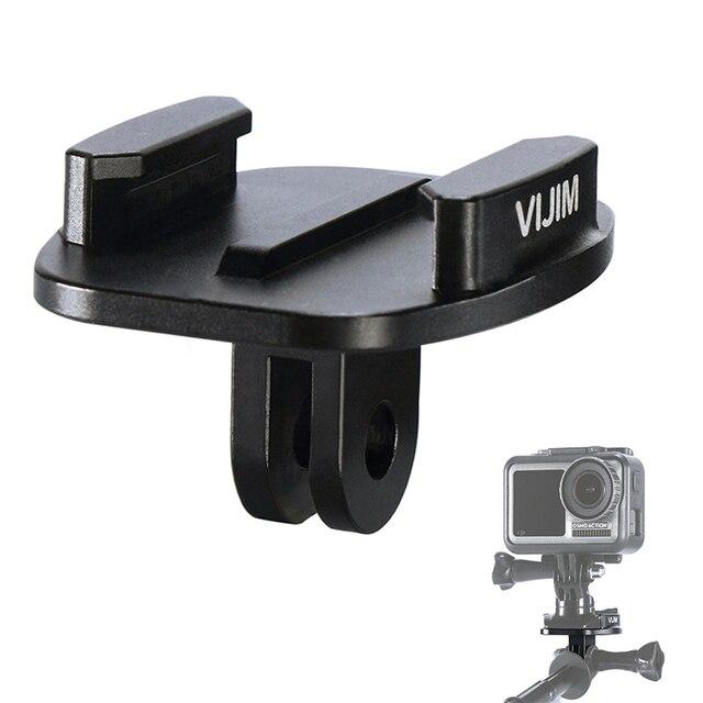 VIJIM GP 2 Aluminum GoPro Quick Release Mount Clip Convert Adapter for GoPro 8/7/6/5 DJI Osmo Action , Action camera Accessories
