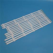лучшая цена 10 Lamps 1000mm LED Backlight Strip Kit For LG 50LA615V 50LA615S -ZA -ZB 50 inch TV Array LED Strips Backlight Bars Light Bands