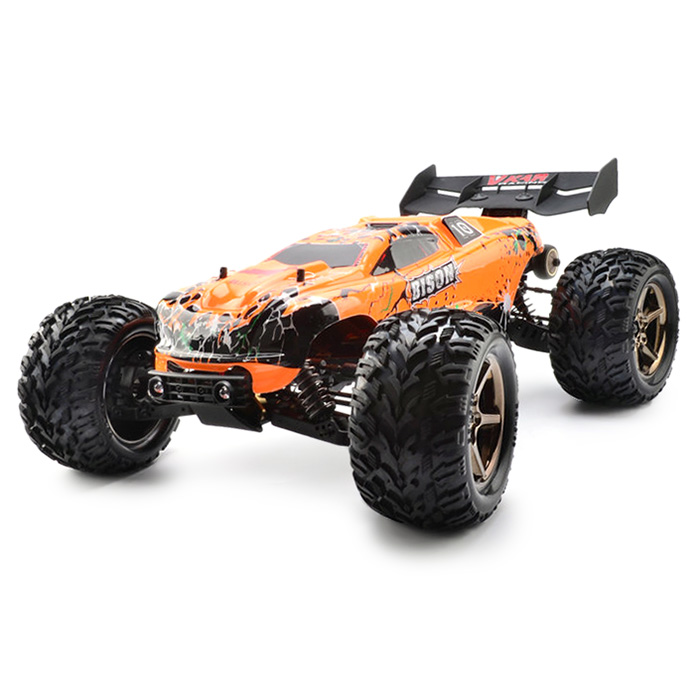 цена на 2018 New VKAR Bison 1:10 Scale Waterproof 4WD Off-Road High Speed Electronics Remote Control Monster Truck RC Racing Cars 90km/H