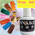 1Pc Magic Snake Skin Gel Nail Art Soak Off UV Gel Varnish Water Bubble Effect Gel #21797