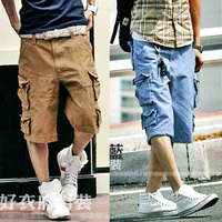 HOT TOP Camo Cargo Shorts Men Surf Overalls Casual Sports Shorts Military Short Pants Camouflage Men