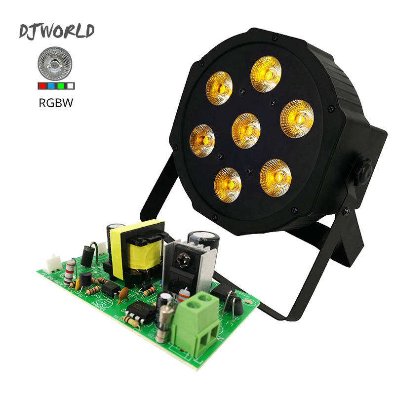 Power Supply 30W Stage Light Part Accessories Power Board Switching Controller For LED Flat Par 7x12W RGBW Lighting