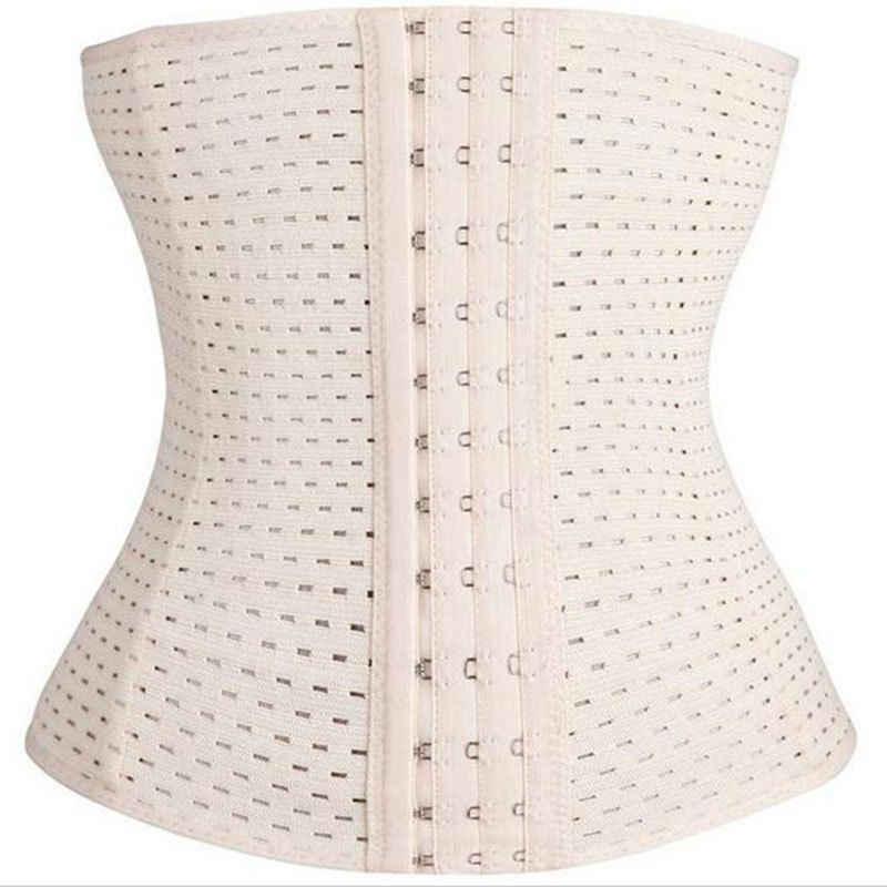 בתוספת גודל נשים מותניים מאמן Cincher Underbust מחוך חגורת Shapewear רזה גוף Shaper אופנה לנשימה מוצק לאחר Pregance