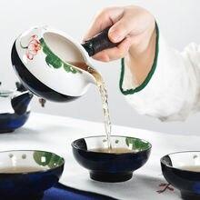 Chinese Ceramics Tea Pot White Porcelain Kung Fu Teaset Filter Mug Sea Teapot GaiWan Hand Painted Fair Cup G