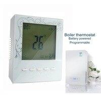 7*6 tijd emmer huishouden programmeerbare hot water boiler thermostaat met Warm systeem