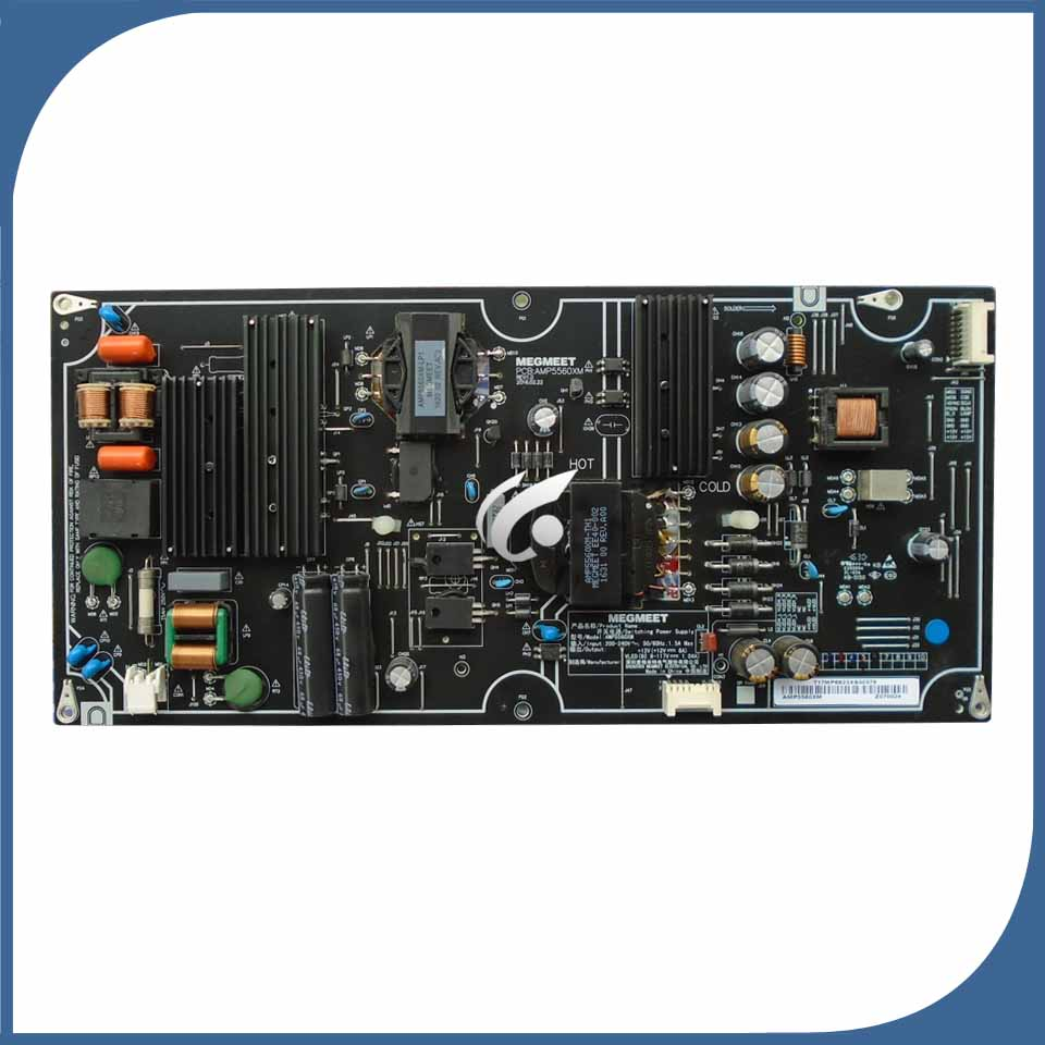 good working for 60 inch power supply board L60M5-AA AMP5560XM used board good working for used power supply board pac79013 10