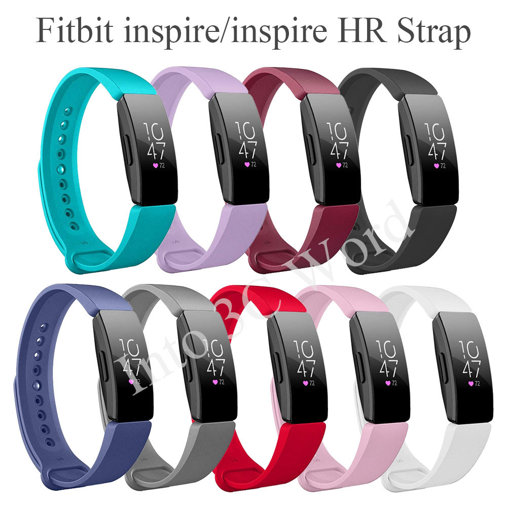 Wrist Strap For Fitbit Inspire HR Soft Silicone Watch Band Strap Replacement For Fitbit Inspire Smart Wearable Accessories