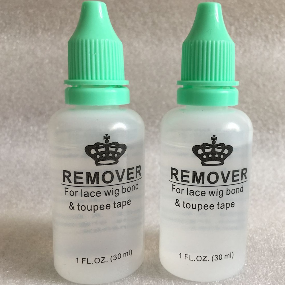 1oz  2 Bottles Remover For Lace Wig Bond & Toupee Tape Lace Wig Bond Remover