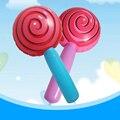 Lollipop inflable Para Los Niños Regalo de Cumpleaños Decoración de La Boda Fuentes Del Partido Niño Juguetes Juguete Inflable Blow Up de Juguete de PVC