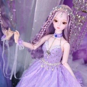 Image 5 - Dbs Droom Fairy 1/3 Bjd 60Cm Pop Joint Body Sd Speelgoed Inclusief Haar Jurk Schoenen Hoofdtooi Meisje Gift